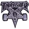 thrasher skategoat patch black